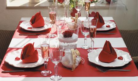 Decoraci n de la casa para el dia de san valentin for Decorar mesa san valentin